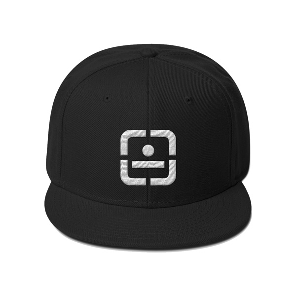 Sixth Cycle Logo Black Snapback
